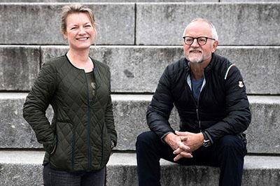 Charlotte og Karl-Johan - thum